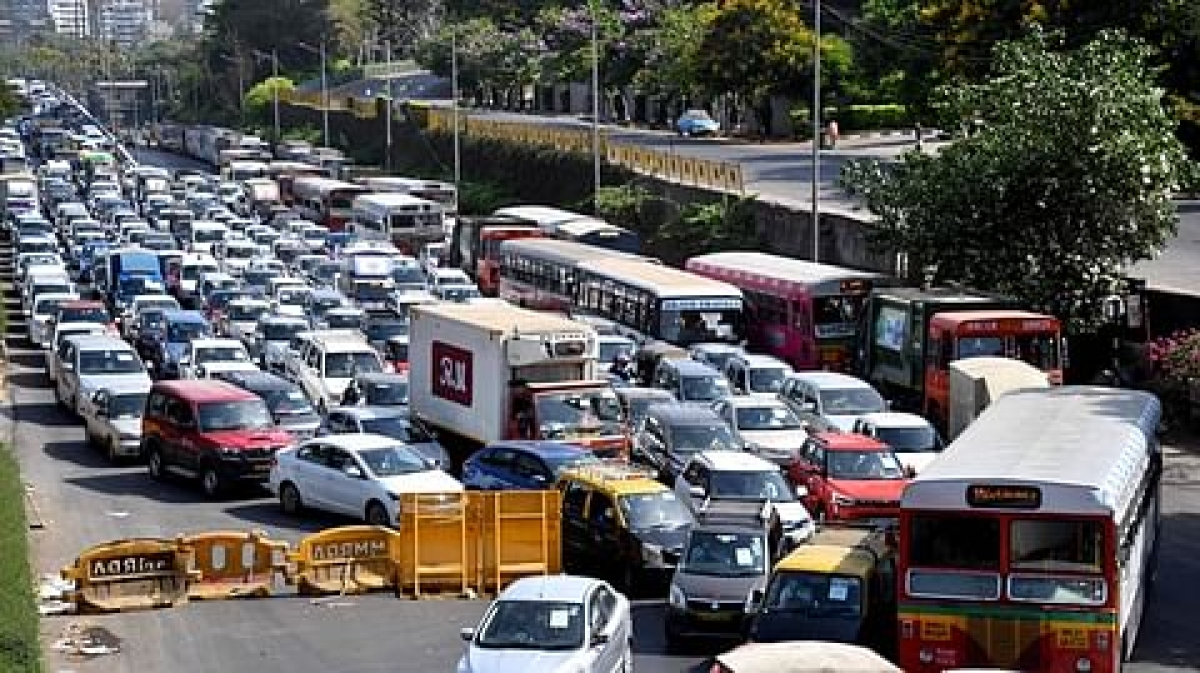 Thane: Traffic congestion in the city worsens due to rise in the number of vehicles