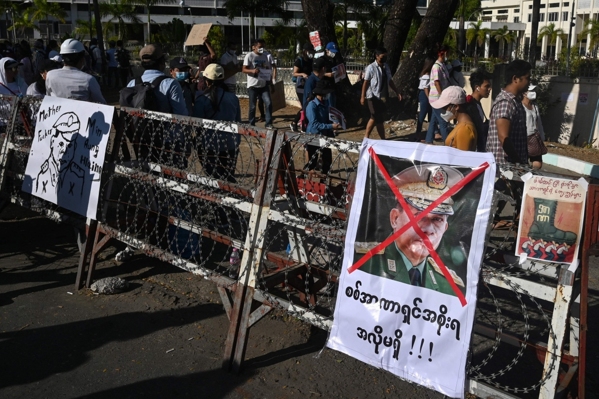 Myanmar Coup: US slaps sanctions on 10 current and former military officers, three entities