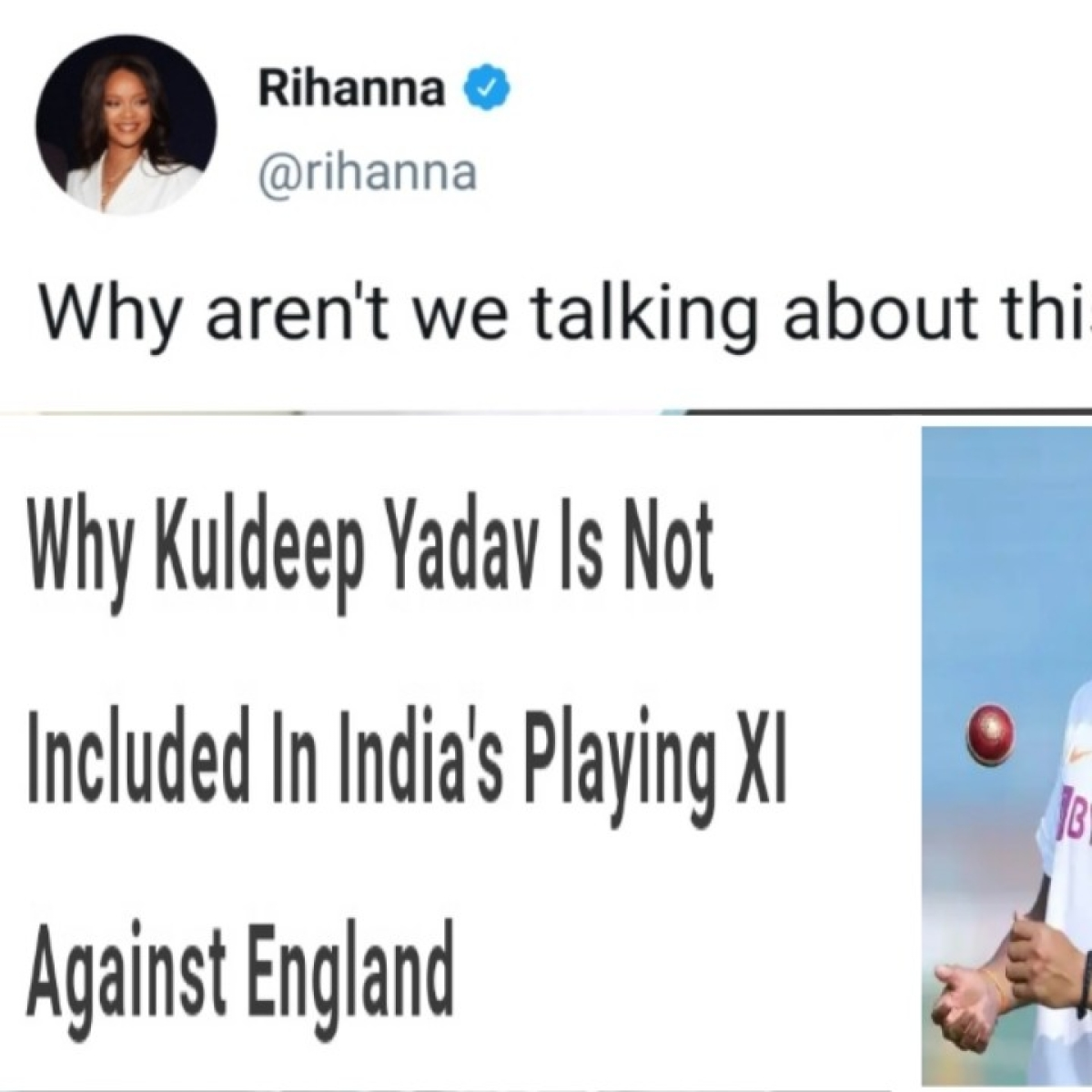 Twitteratti is hoping mad over yet another cold shoulder to Kuldeep Yadav