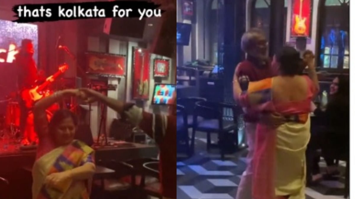 Watch: Elderly couple from Kolkata grooving to 'Woh Chali' is the cutest video on the internet today