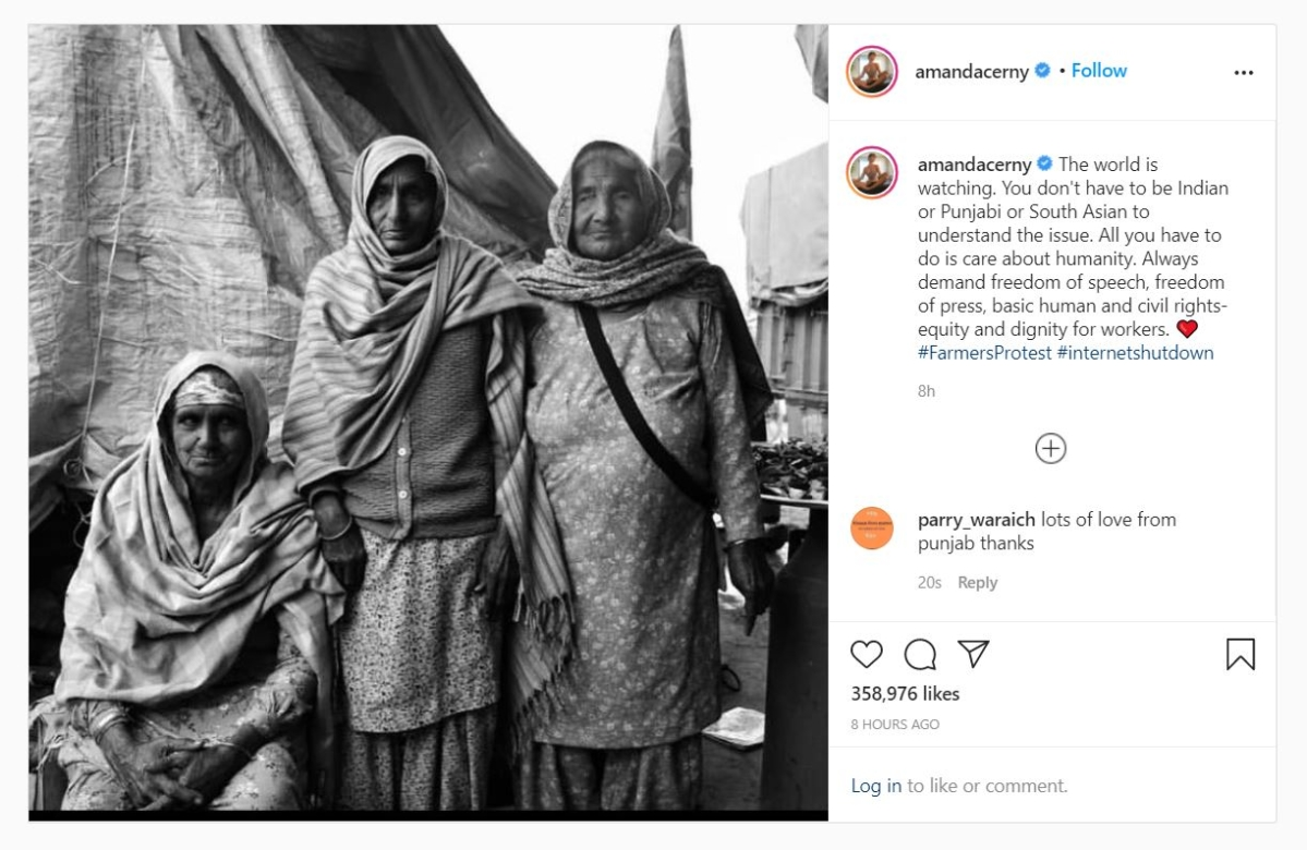 From Rihanna to Greta Thunberg: International celebrities highlight India's ongoing farmers' protest