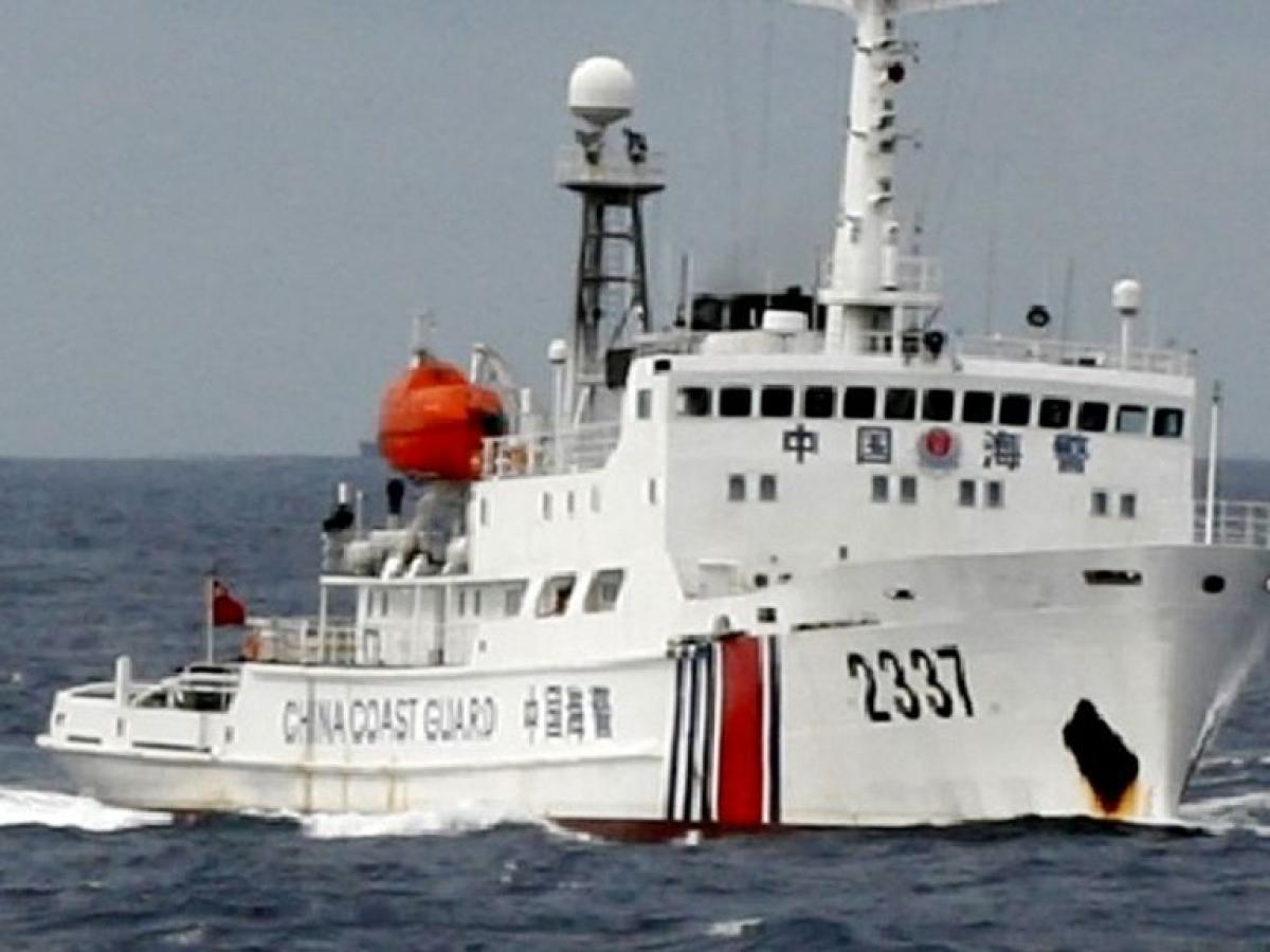China Coast Guard gains new powers