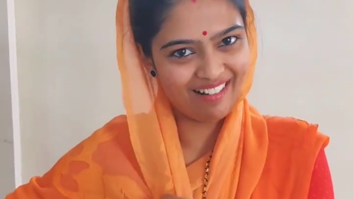 Indore: Her Indoripan is insta hit on social media