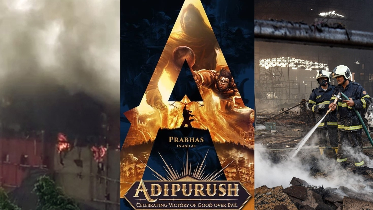 Adipurush: Fire breaks out on set of the Prabhas-Saif Ali Khan starrer on Day 1 of shooting