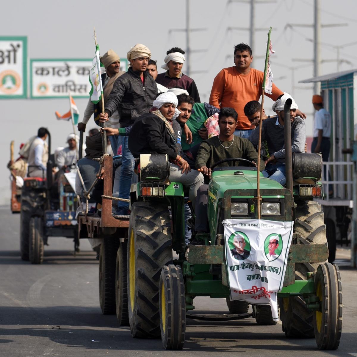 Farmers' protest: Ghazipur, Singhu, Tikri, borders closed for traffic movement