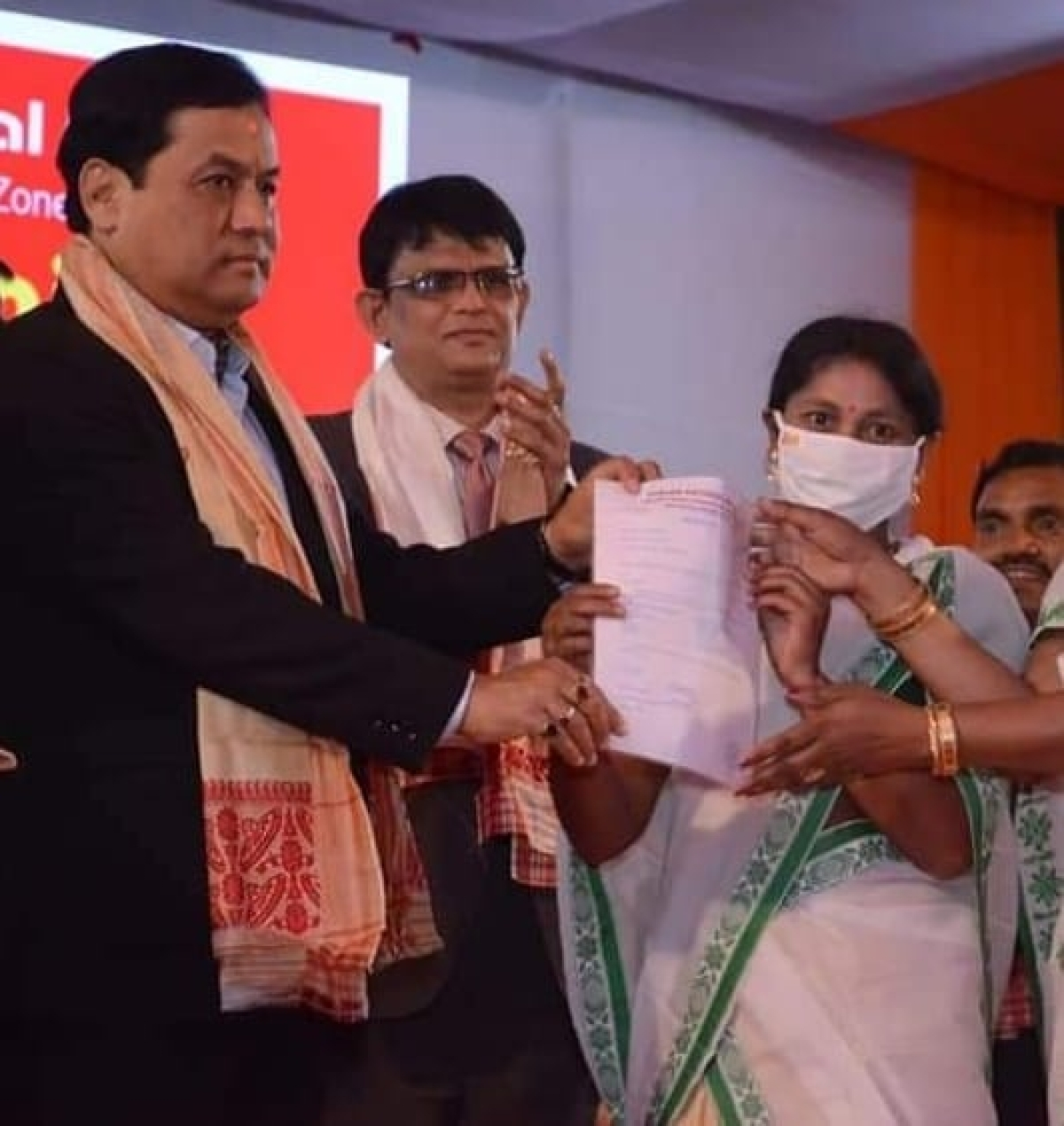 Assam CM Sarbananda Sonowal inaugurates PNB's Phuloni Chariali Branch in Majuli in presence of MD & CEO CH S S Mallikarjuna Rao