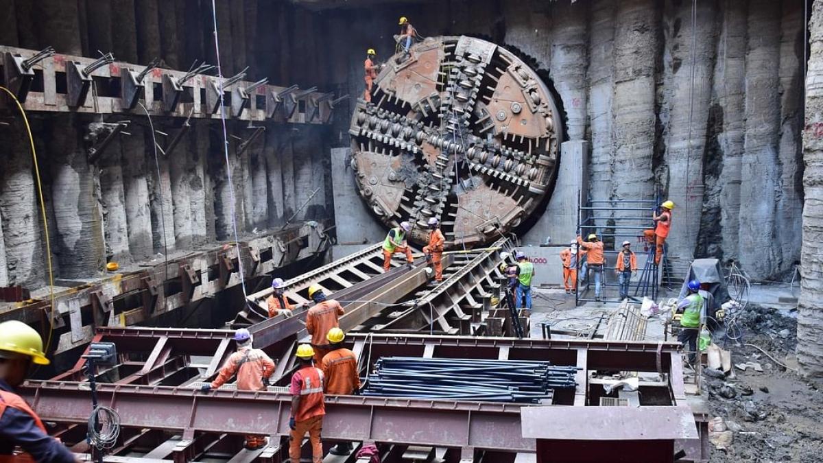 Mumbai: Underground Metro Line 3 completes 50.3km of tunneling works