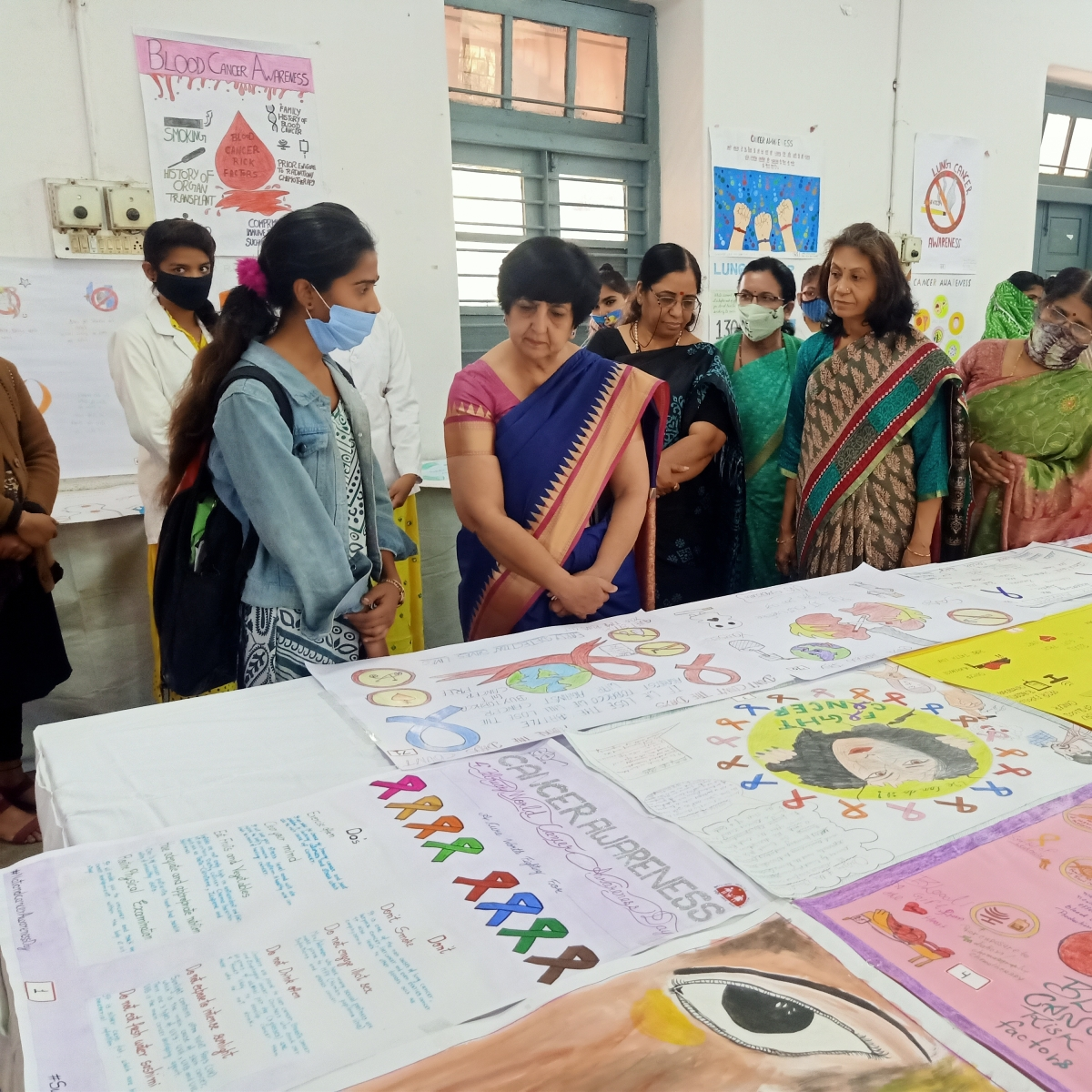 Ujjain: Durva, Akshita and Rupali win contests on cancer awareness