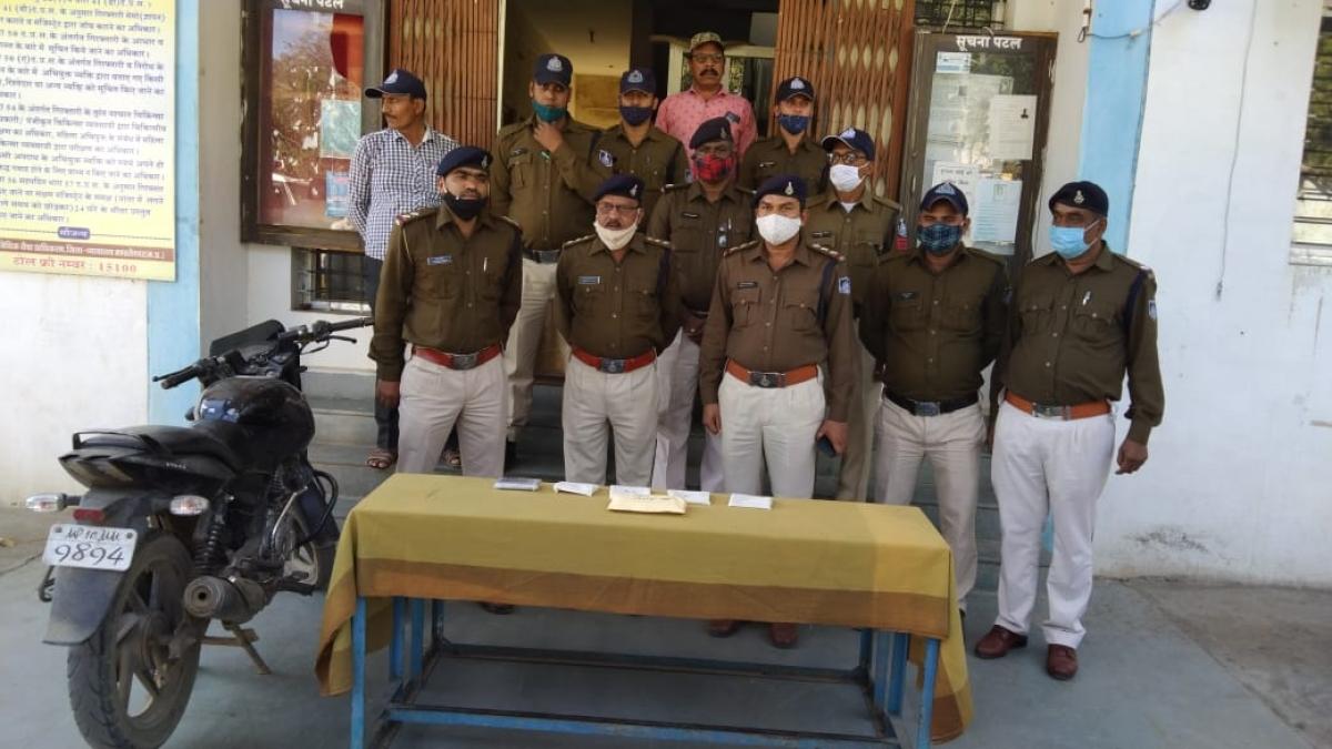 Madhya Pradesh: 3 peddlers held with 13-gram smack in Mandleshwar