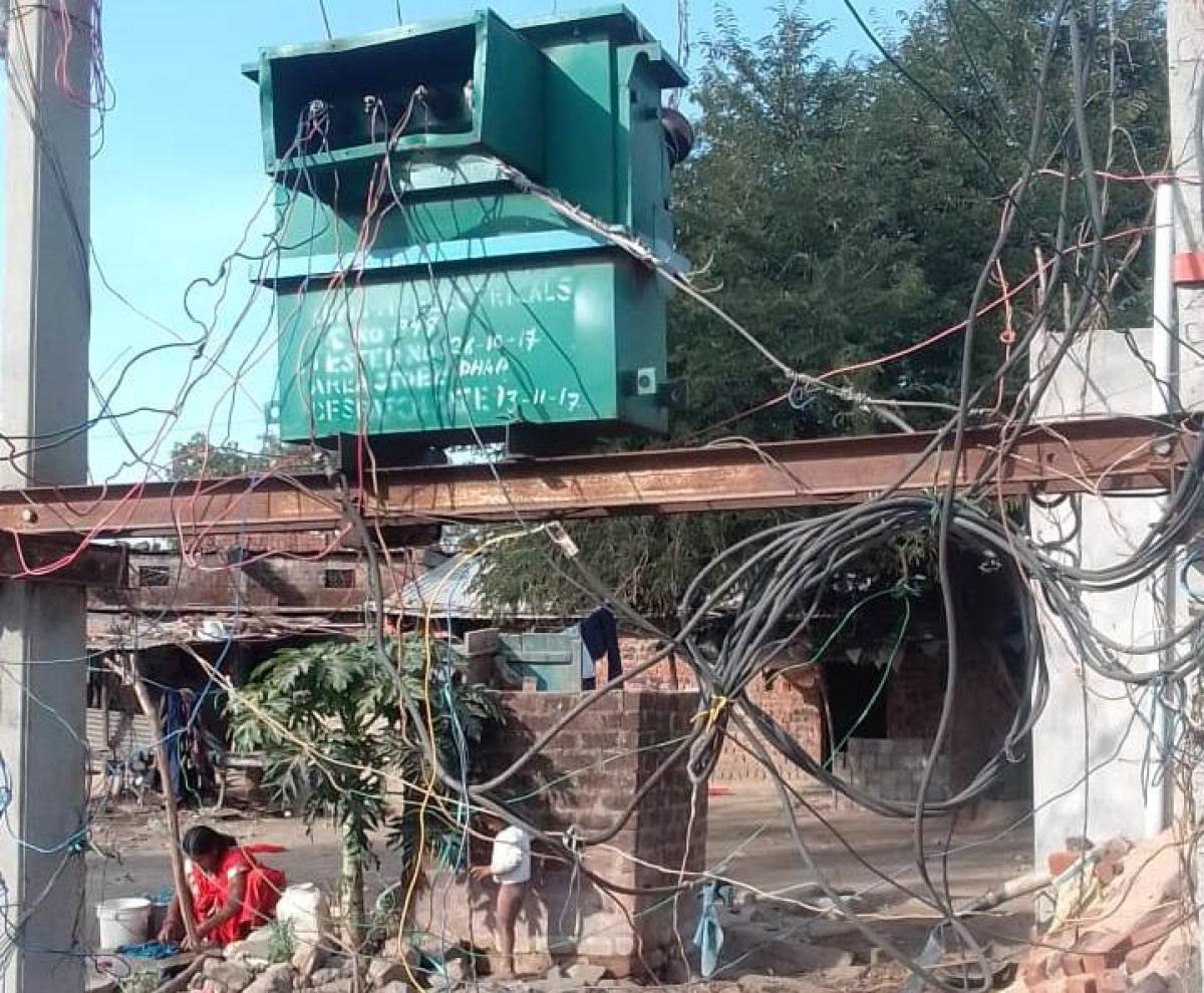 Transformer in Baidafaliya of Phulgawdi village