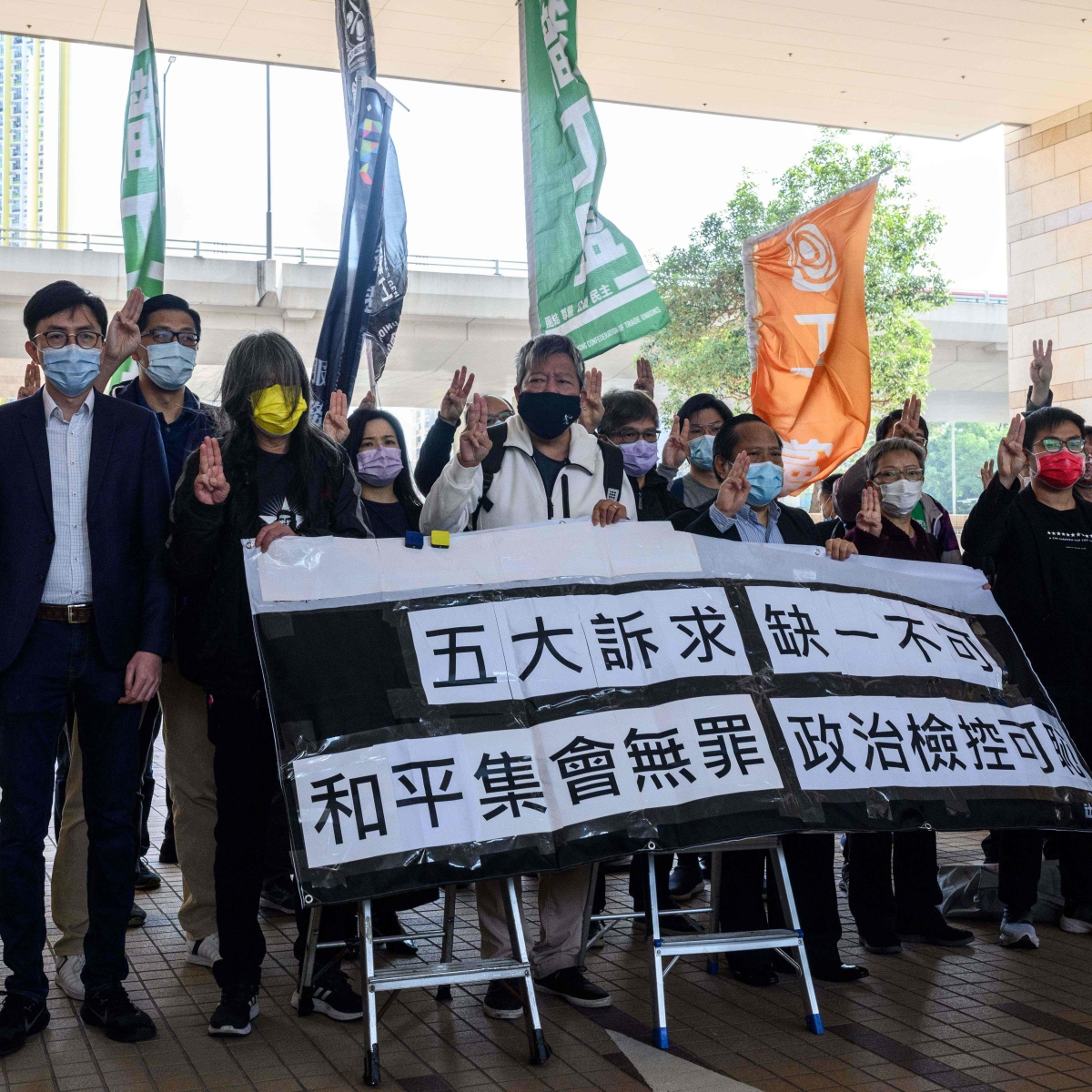 2019 Hong Kong anti-govt protests: Two former lawmakers plead guilty to illegal assembly charges