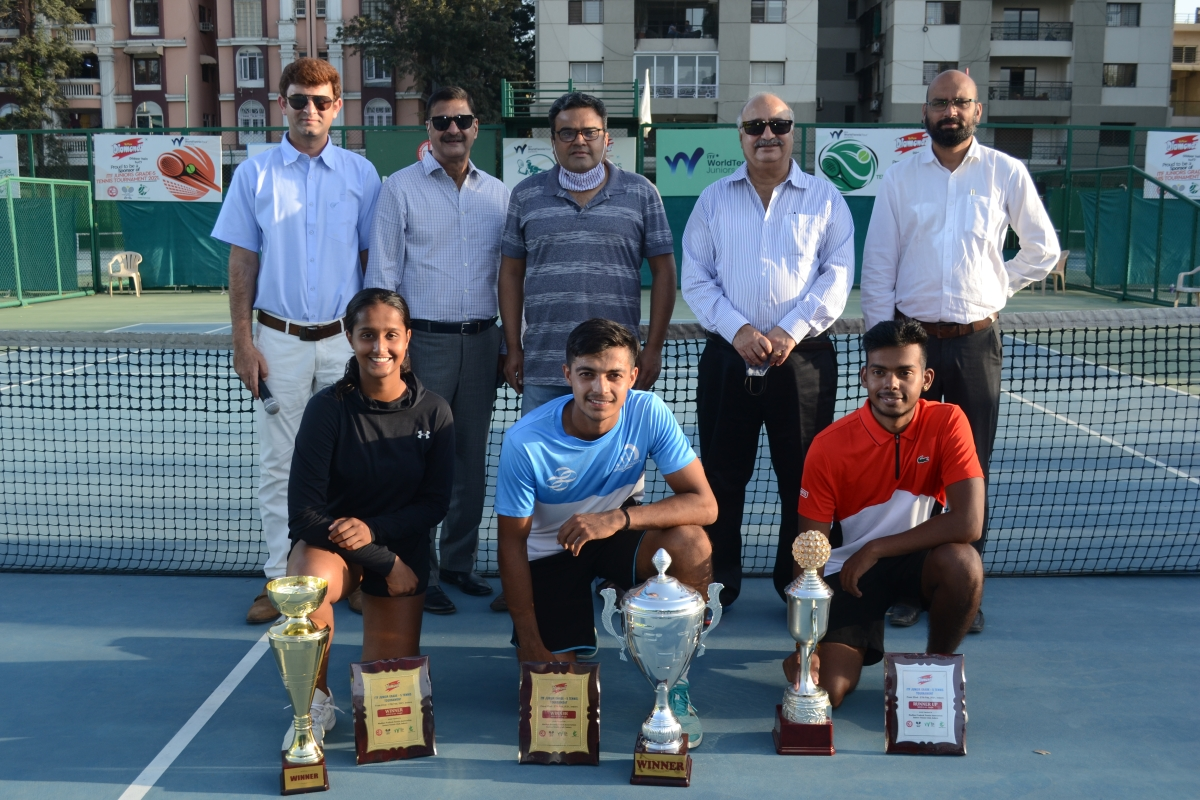 Indore: Denim loses in a thrilling match, Aman and Vaishnavi win titles