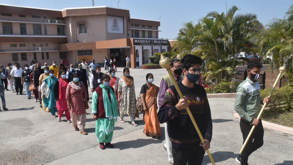 Ujjain: Vikram University all set to hold 24th convocation ceremony today