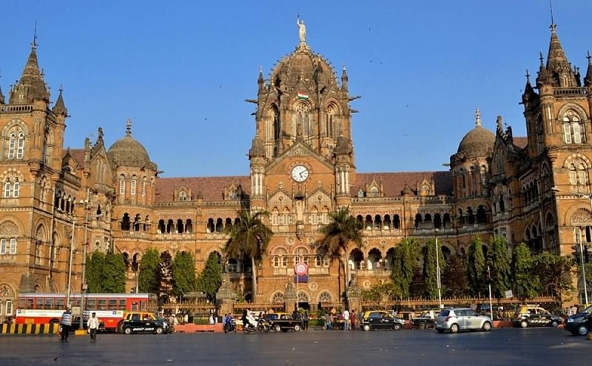 Chhatrapati Shivaji Maharaj Terminus (CSMT) in Mumbai