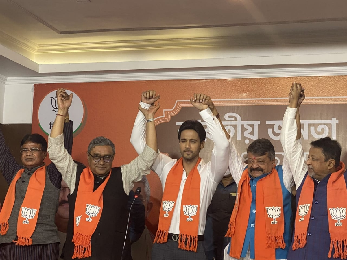 Ahead of West Bengal assembly polls, actor Yash Dasgupta joins BJP