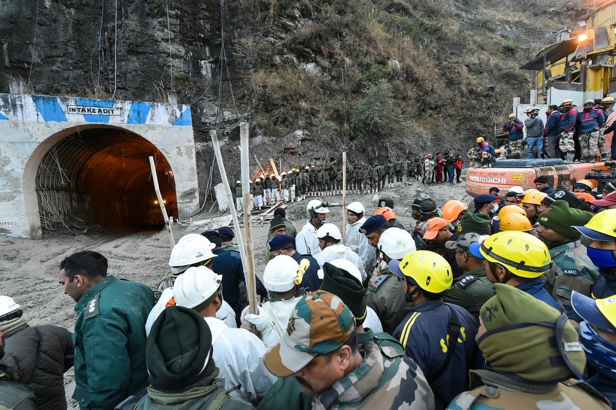 Uttarakhand glacier burst: At least 171 still missing; rescue work underway at Tapovan tunnel