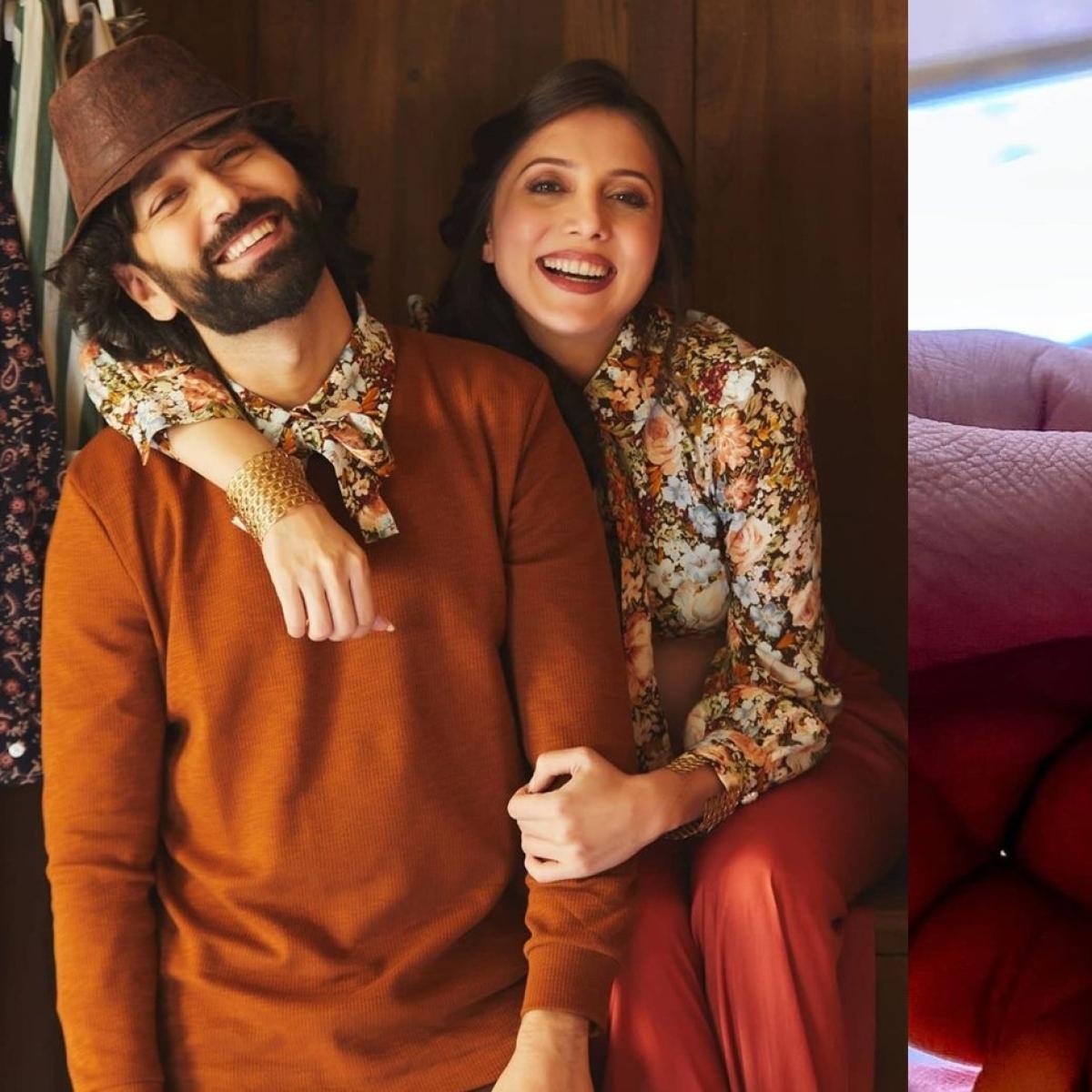 TV actor Nakuul Mehta, wife Jankee Parekh welcome baby boy