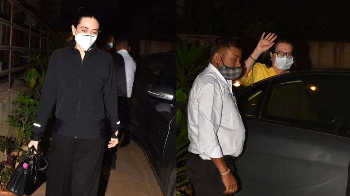 9-months pregnant Kareena to be admitted to the hospital soon; Karisma, Babita, Ibrahim visit actor's home