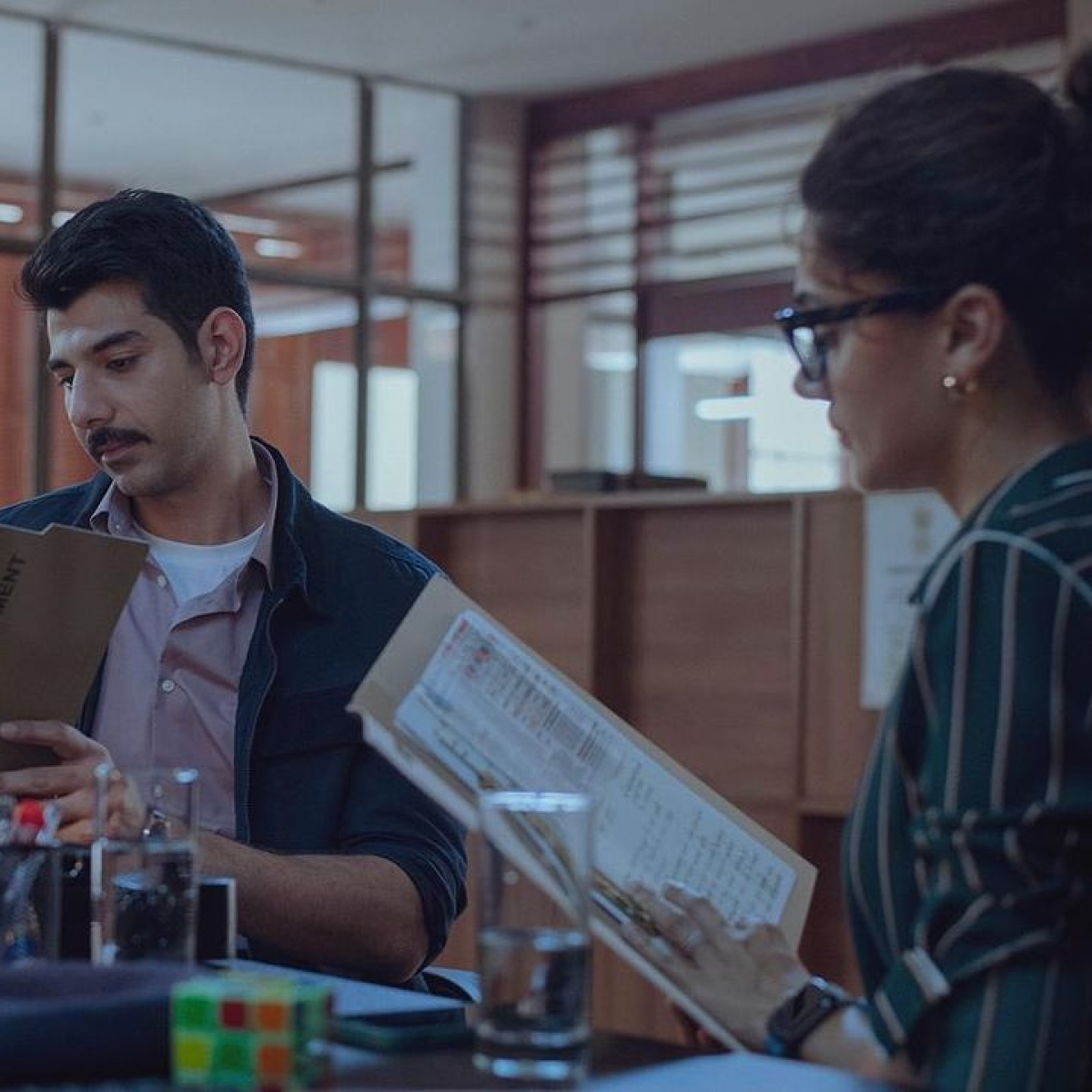 Dobaaraa: Taapsee Pannu re-unites with 'Thappad' co-star Pavail Gulati, says 'this is a chance to mend his mistake '
