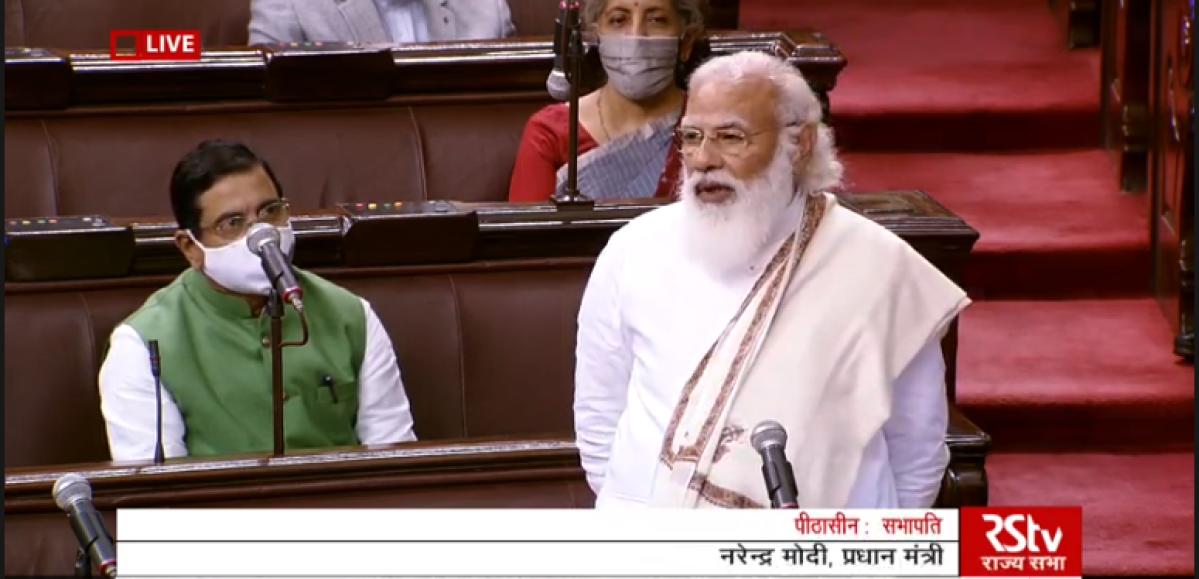 'MSP tha, MSP hai, MSP rahega': PM Modi reiterates as farmers' protest rages on