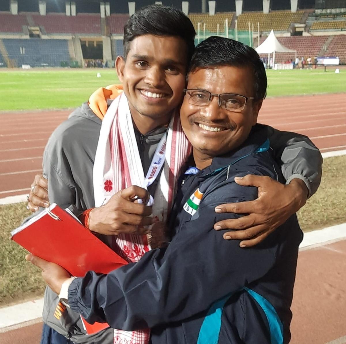 Madhya Pradesh's Sunil Davar breaks meet record at 36th National Junior Athletics Championship