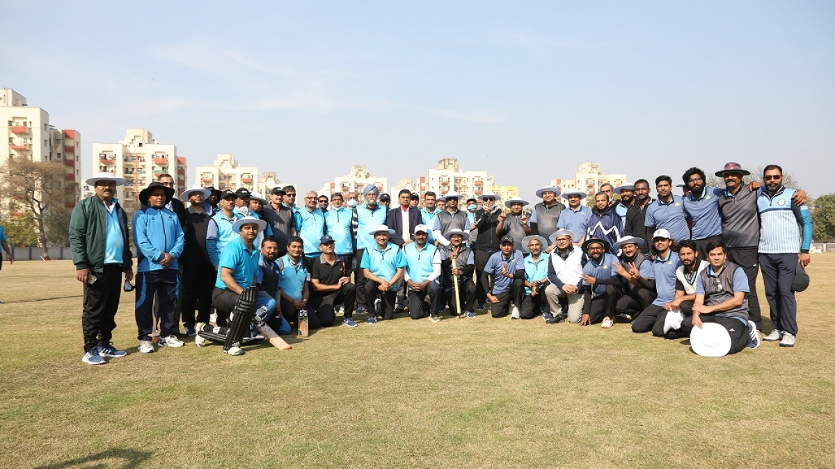'Power Cup 2021' friendly cricket match played between Ministry of Power and Power CPSU teams