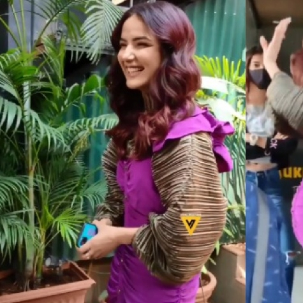 Oops! Jasmin Bhasin spotted wearing dress with price tag on; gets brutally trolled
