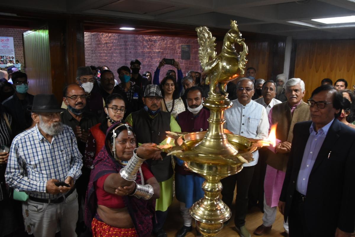 Inauguration of Bharat Bhavan foundation day celebrations in Bhopal on Saturday