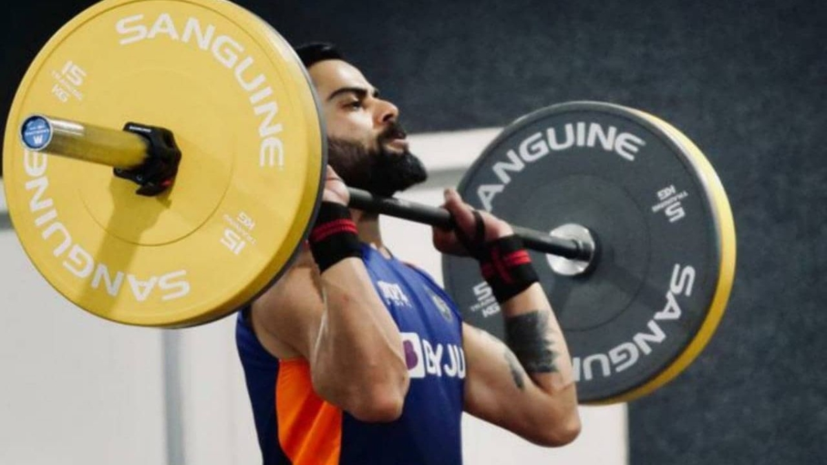 'Keep toiling hard Champ': Twitter reacts as King Kohli posts pictures of his intense workout