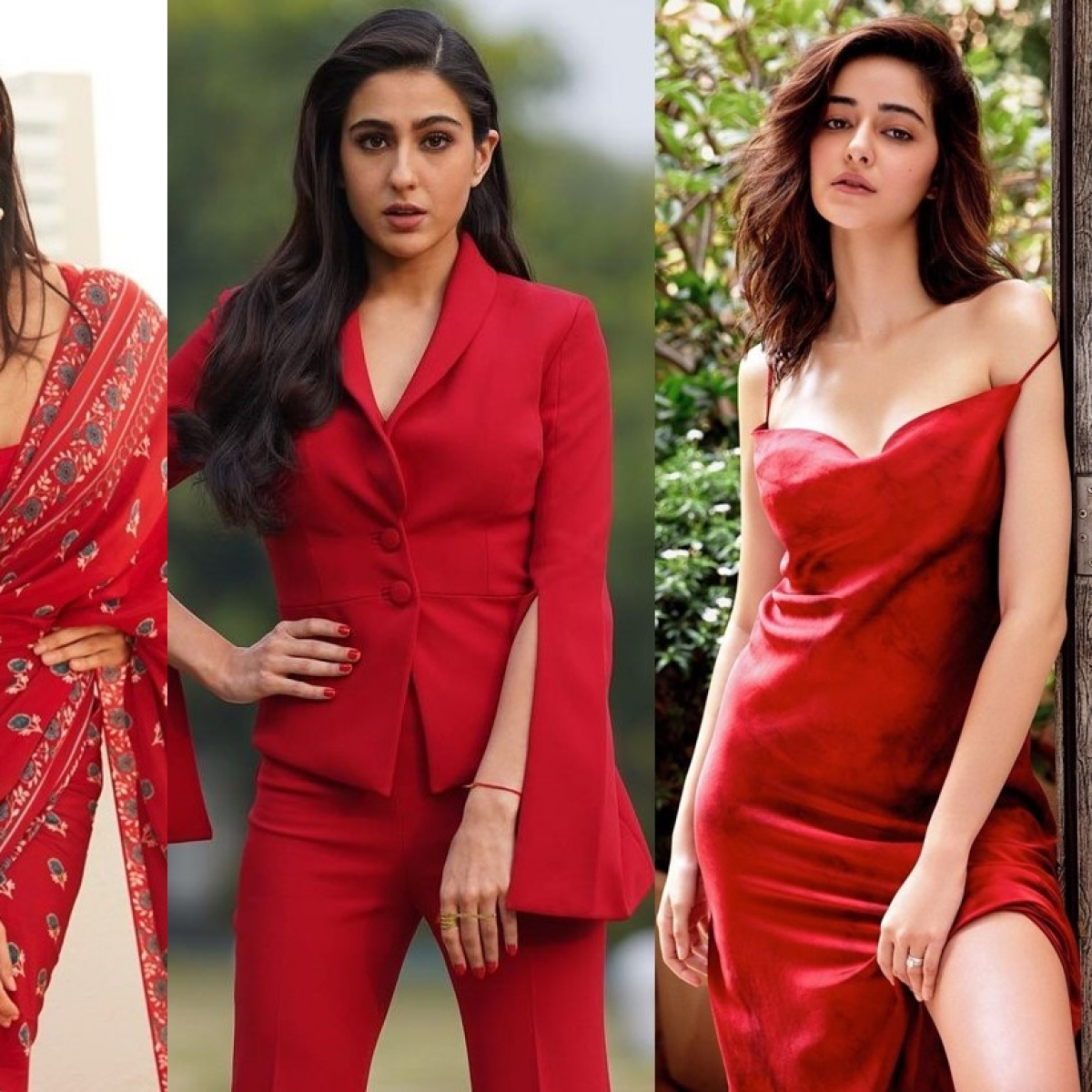 Valentine's Day 2021: Fashionable RED outfits inspired by B-town divas