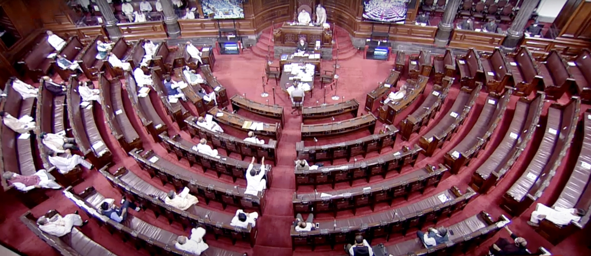 Thorny Rajya Sabha session likely as opposition leaders give suspension of business notices to discuss farm laws