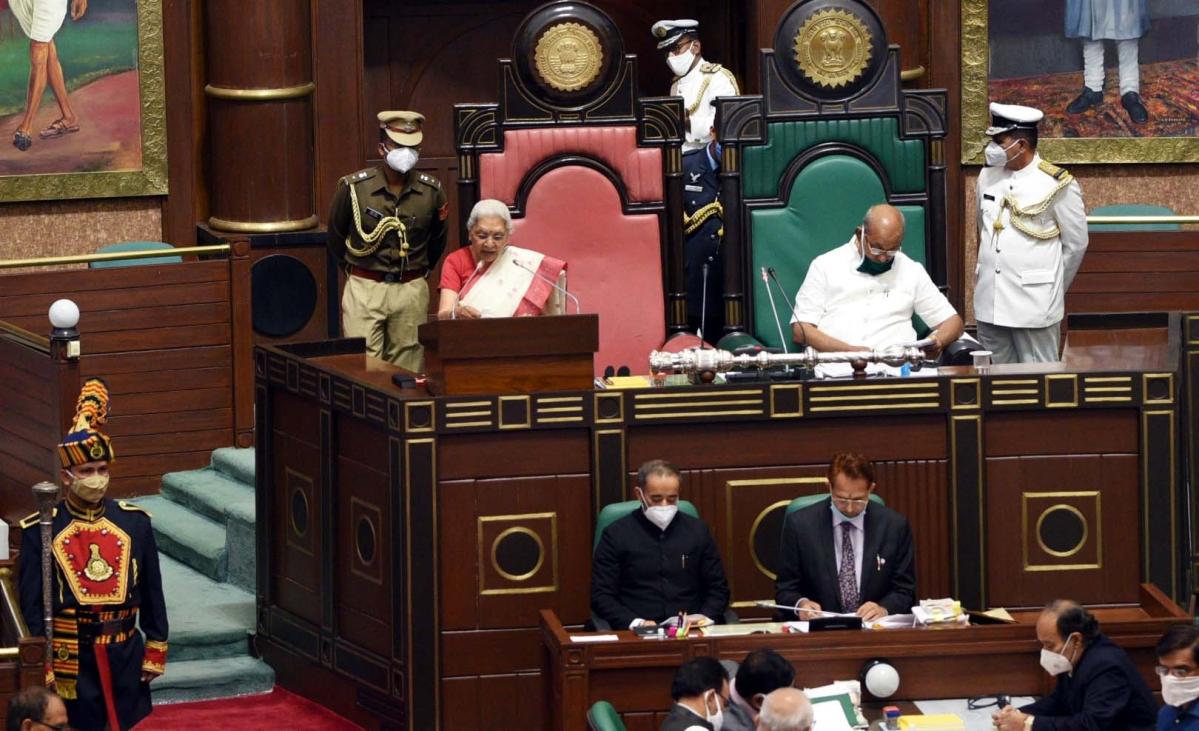 Madhya Pradesh: Modi's name mentioned in Governor's Address 10 times