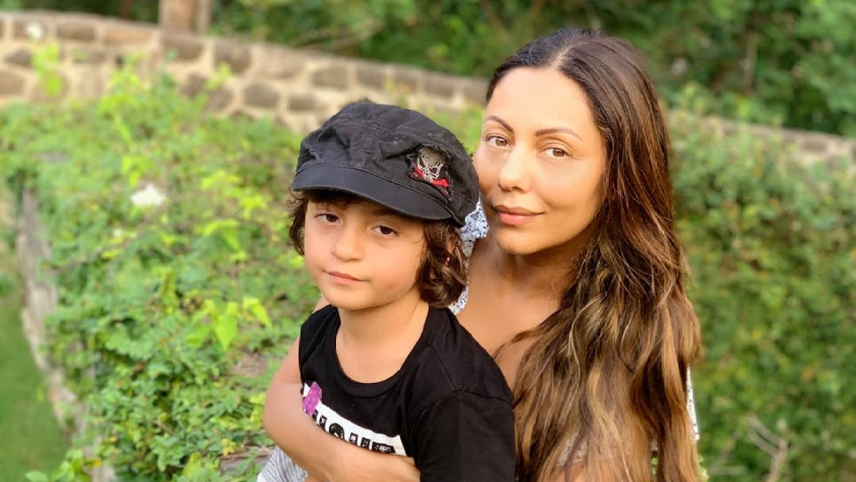 Gauri Khan terms son AbRam 'Mike Tyson' in adorable post; see pic