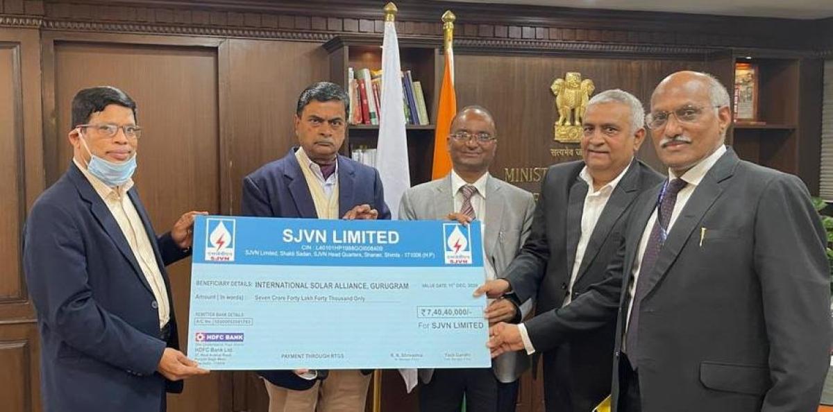 SJVN joins International Solar Alliance