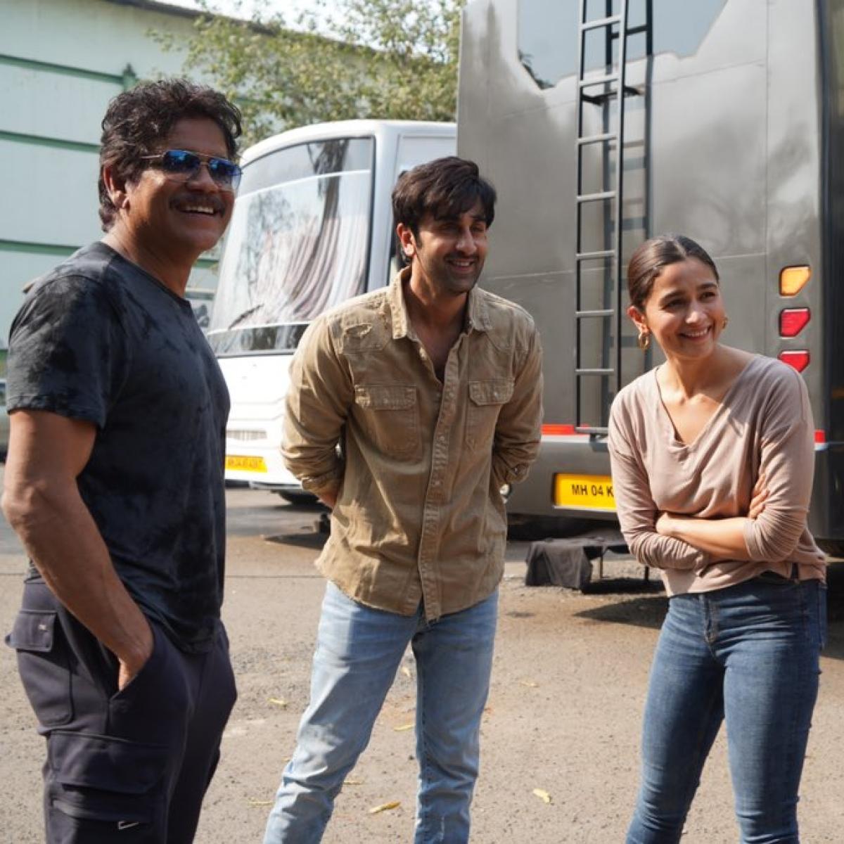 Brahmastra: Nagarjuna wraps shoot of Ranbir Kapoor, Alia Bhatt's fantasy film