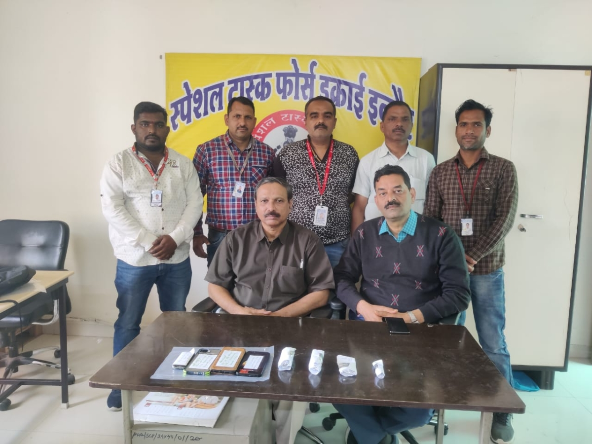 Indore: STF arrests 4 for selling fake uranium for Rs 3cr