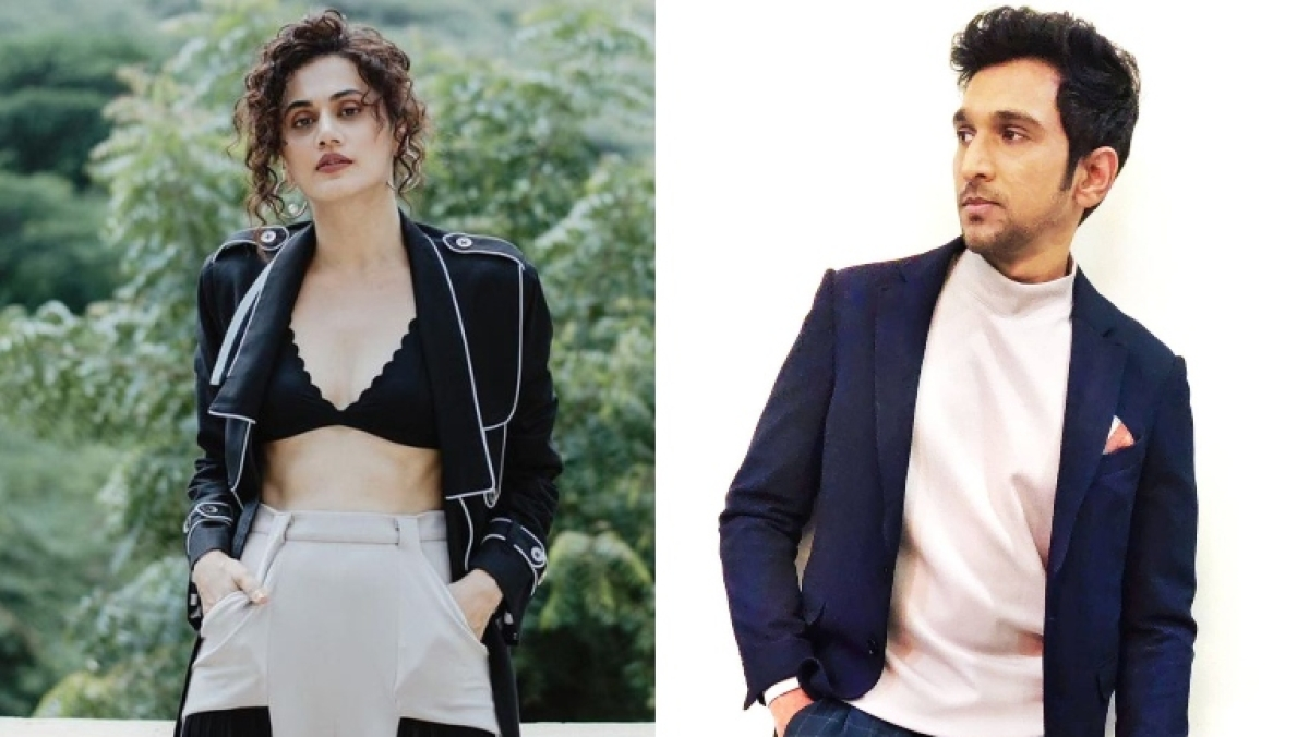 Taapsee Pannu to collaborate with 'Scam 1992' actor Pratik Gandhi in 'Woh Ladki Hai Kahaan?'