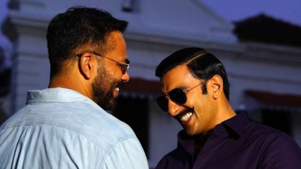 Watch: Ranveer Singh shares hilarious video of Rohit Shetty from sets of 'Cirkus'