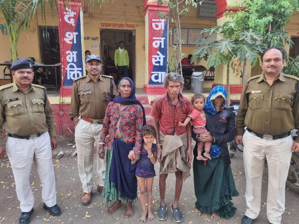 Madhya Pradesh: Five of a family rescued from abductors in Dhar