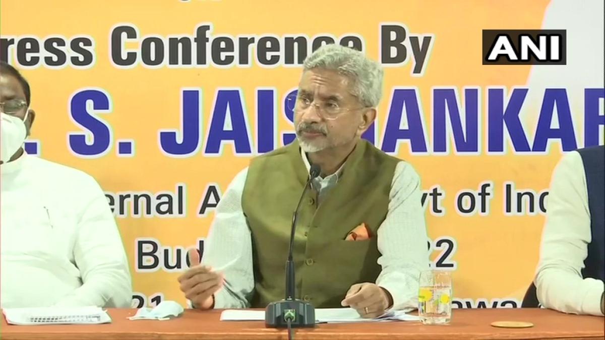 External Affairs Minister S Jaishankar in Vijayawada