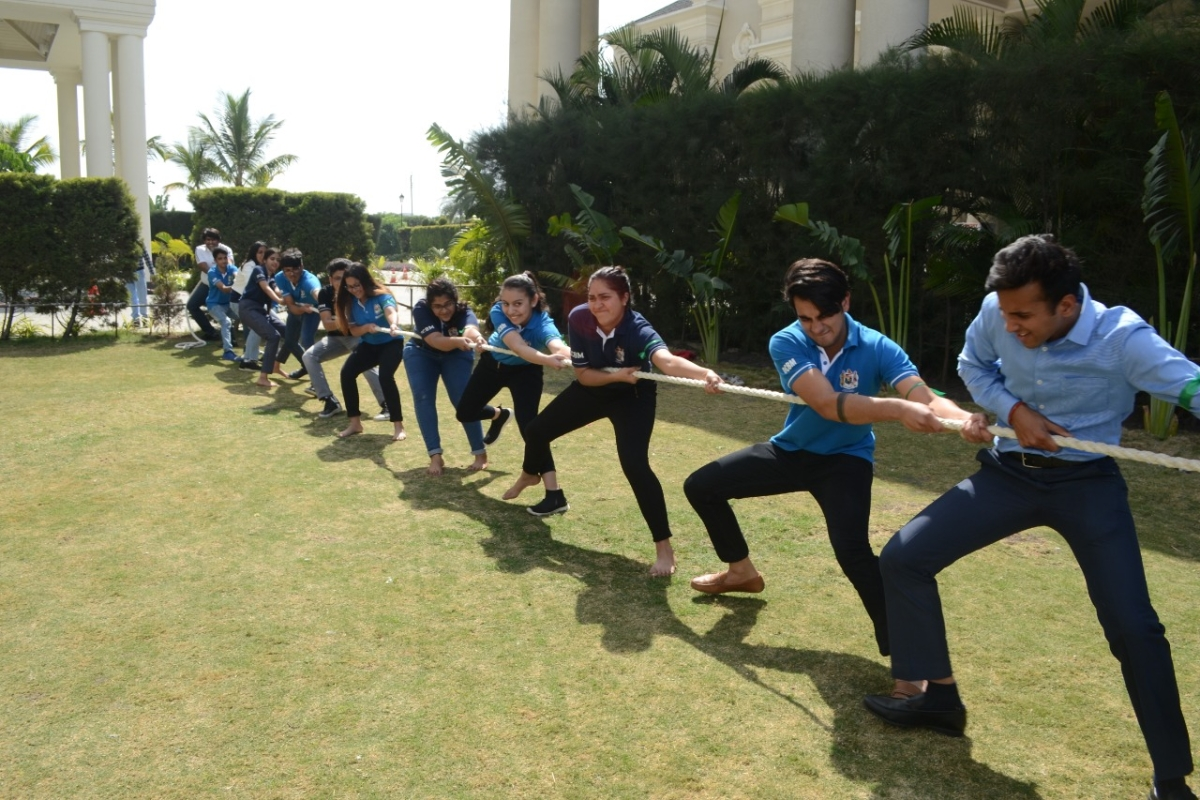 Daly College students enjoy games