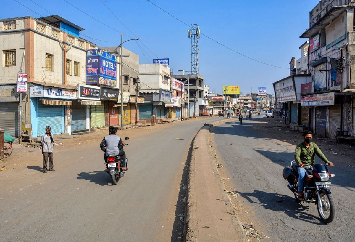 Amravati: Lockdown extended till March 8