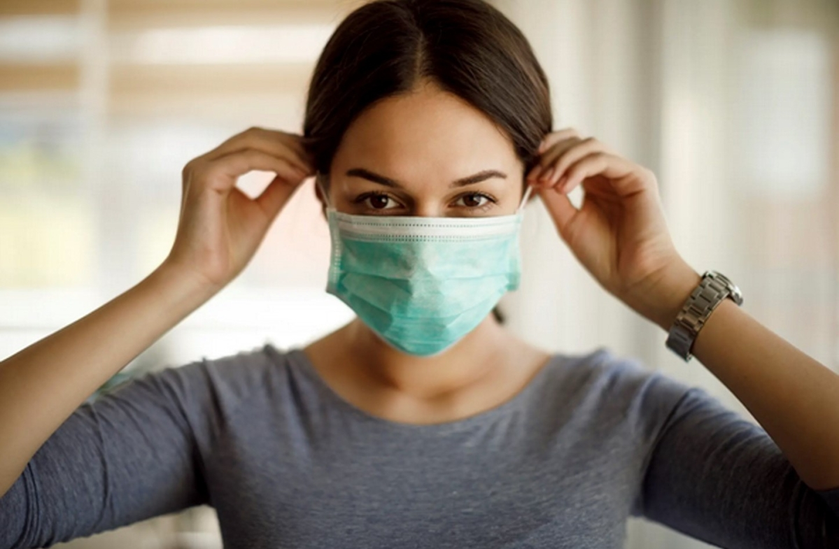 Humidity from masks may lessen severity of COVID-19, finds study
