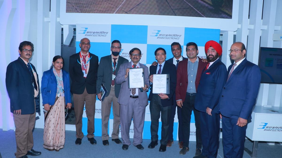 Bharat Electronics signs MoU with Grene Robotics Pvt Ltd