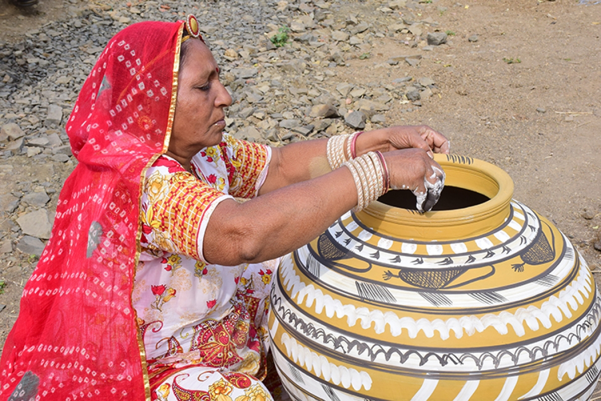BHOPAL: Have a look at Pokharan pottery that flowed through a lyric since ages