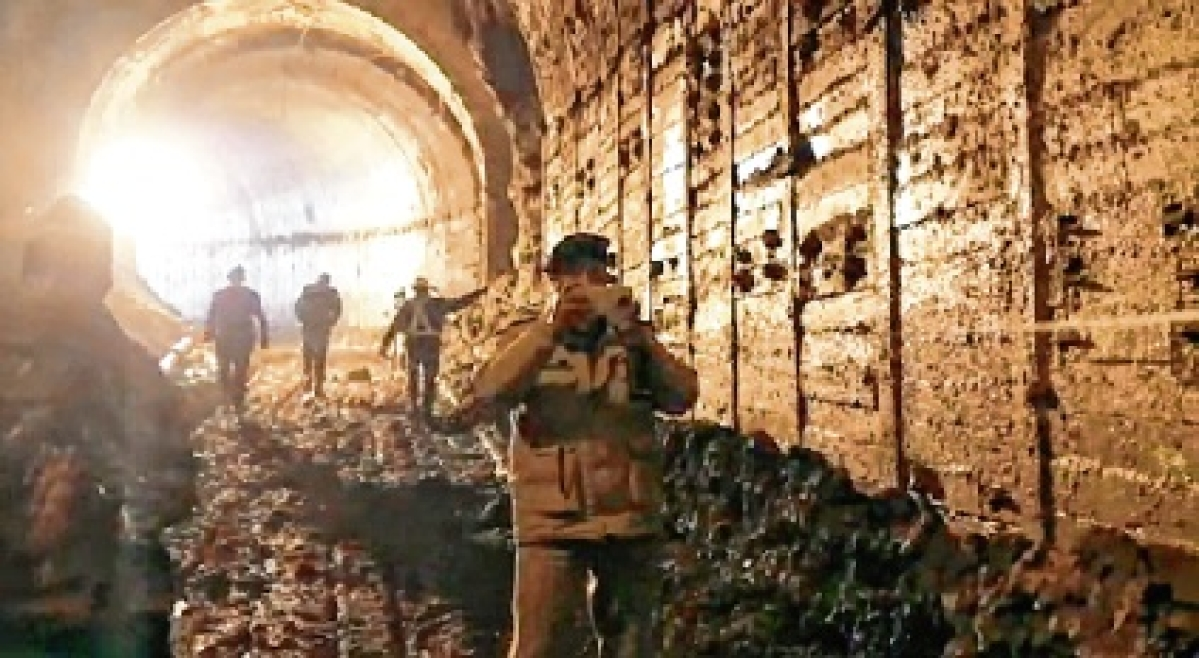 Recce team at glacier-burst site; ITBP DG says Tapovan tunnel operation to continue till trapped are found