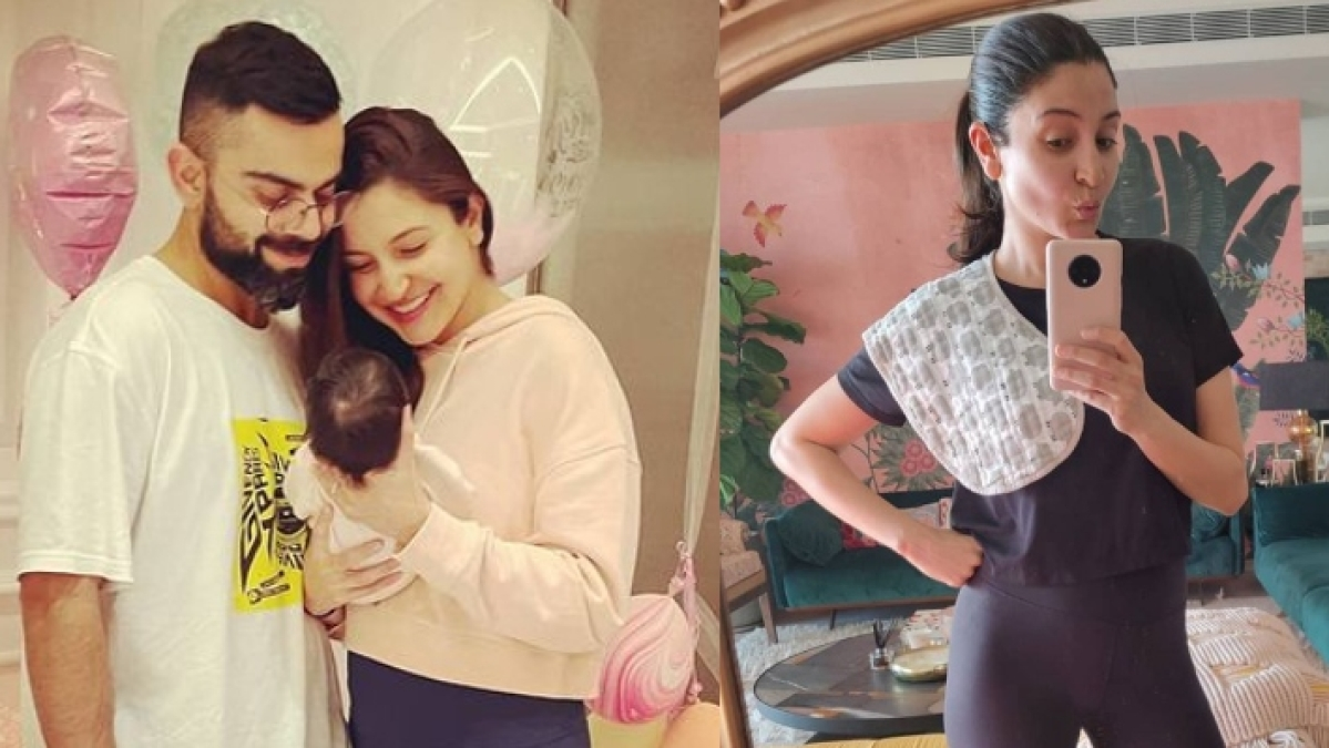 Anushka Sharma shares stunning mirror selfie, poses with her 'favourite accessory' after welcoming Vamika
