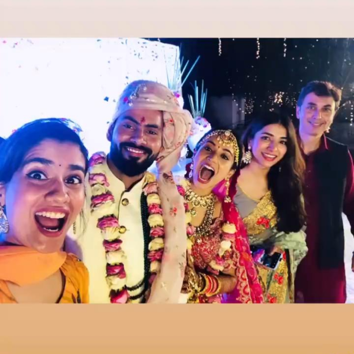 'Scam 1992' actress Anjali Barot who played Harshad Mehta's wife ties the knot with beau Gaurav Arora