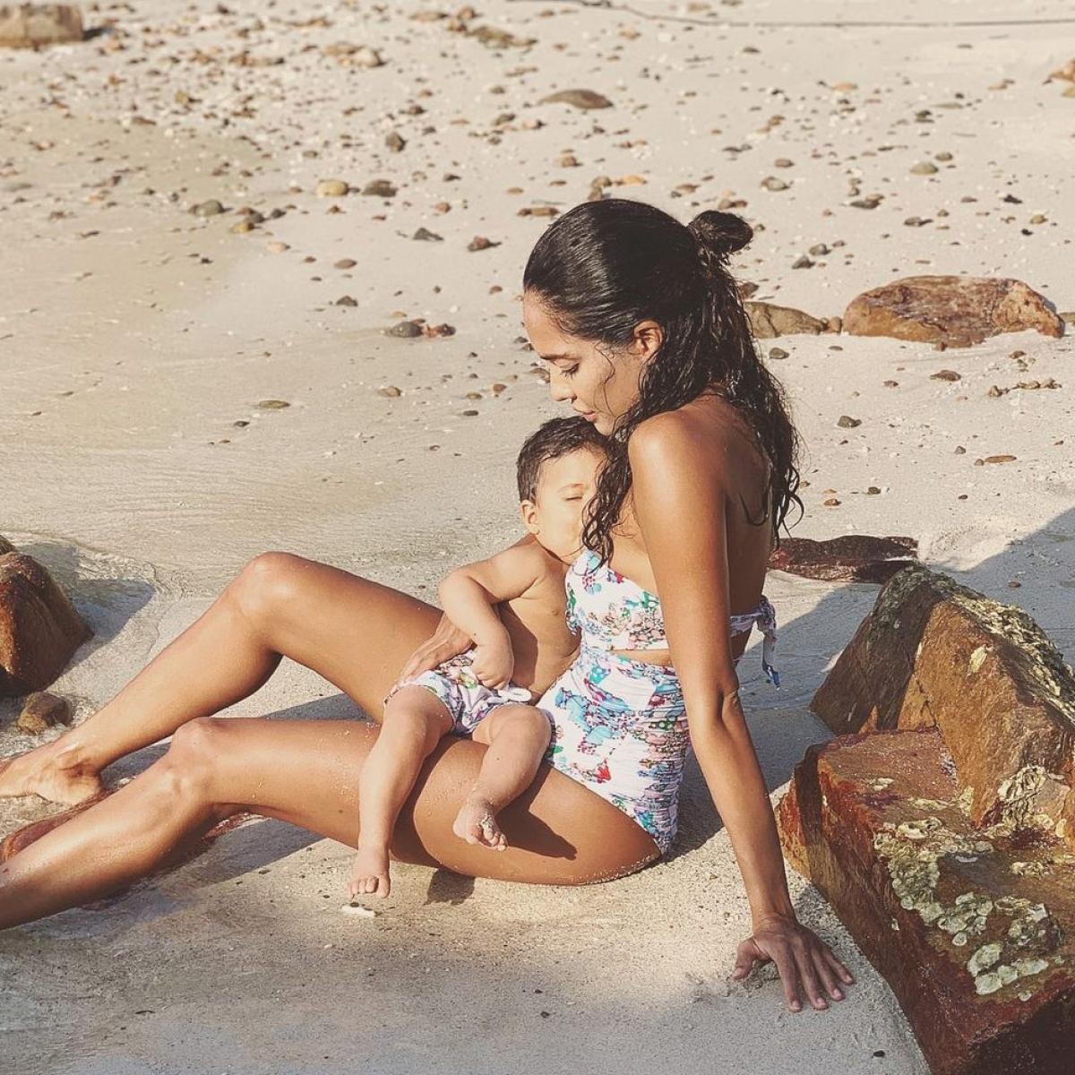 Lisa Haydon expecting third child with husband Dino Lalvani, reveals baby's gender