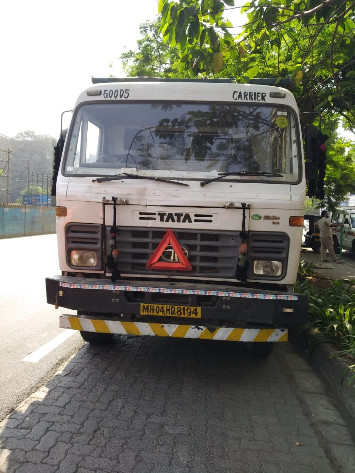 Thane: Two injured after colliding with a speeding dumper